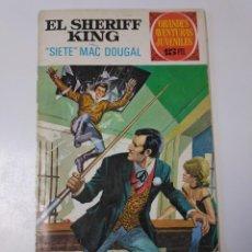 Tebeos: EL SHERIFF KING NÚMERO 22 SIETE MAC DOUGAL GRANDES AVENTURURAS JUVENILES 1 EDICIÓN 1972 BRUGUERA. Lote 207871811