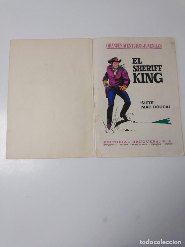 Tebeos: El Sheriff King número 22 Siete Mac Dougal Grandes Aventururas Juveniles 1 Edición 1972 Bruguera - Foto 4 - 207871811