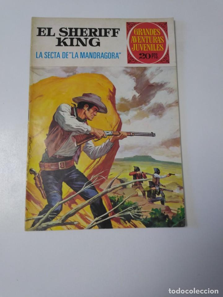 EL SHERIFF KING NÚMERO 30 LA SECTA DE LA MANDRÁGORA GRANDES AVENTURAS JUVENILES 2 EDICIÓN 1975 (Tebeos y Comics - Bruguera - Sheriff King)