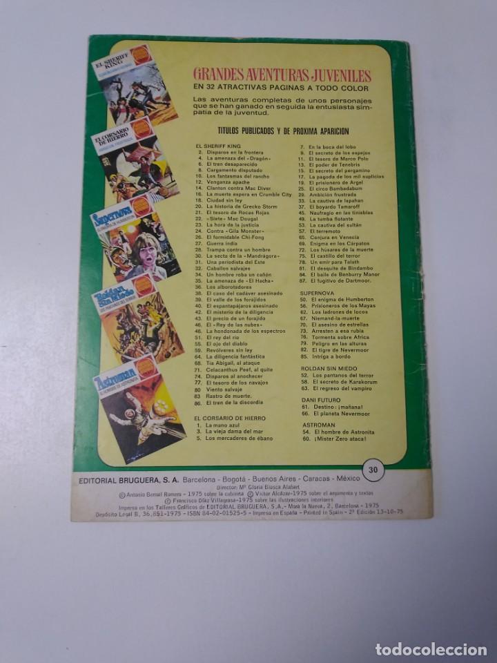 Tebeos: El Sheriff King número 30 La Secta de la Mandrágora Grandes Aventuras Juveniles 2 Edición 1975 - Foto 2 - 207874077