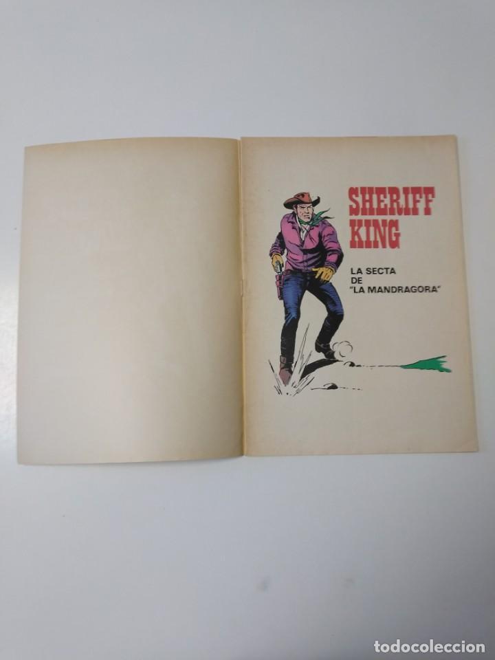 Tebeos: El Sheriff King número 30 La Secta de la Mandrágora Grandes Aventuras Juveniles 2 Edición 1975 - Foto 4 - 207874077
