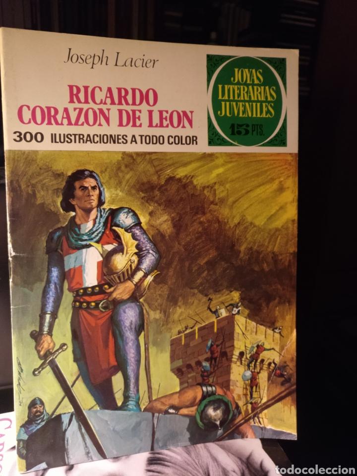 RICARDO CORAZÓN DE LEÓN BRUGUERA 1971 NO 19. LABERINTO ROJO (Tebeos y Comics - Bruguera - Joyas Literarias)