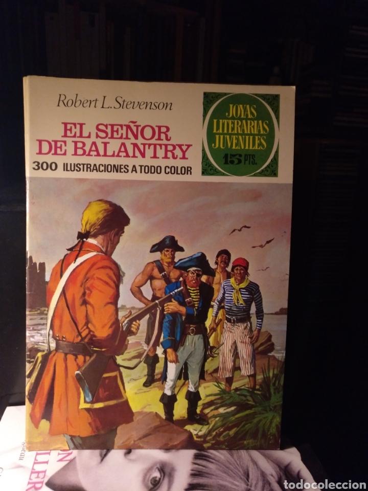 EL SEÑOR DE BALANTRY. BRUGUERA 20, 1971LABERINTO ROJO (Tebeos y Comics - Bruguera - Joyas Literarias)