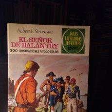 Tebeos: EL SEÑOR DE BALANTRY. BRUGUERA 20, 1971LABERINTO ROJO. Lote 207898711