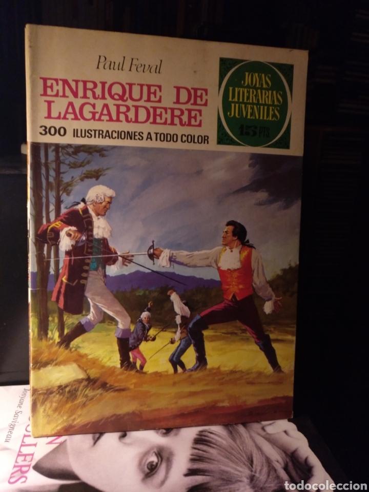 ENRIQUE DE LAGARDERE. BRUGUERA 27 1971. LABERINTO ROJO (Tebeos y Comics - Bruguera - Joyas Literarias)