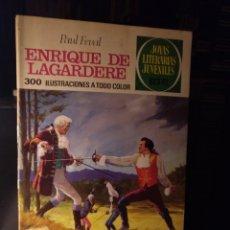 Tebeos: ENRIQUE DE LAGARDERE. BRUGUERA 27 1971. LABERINTO ROJO. Lote 207899120