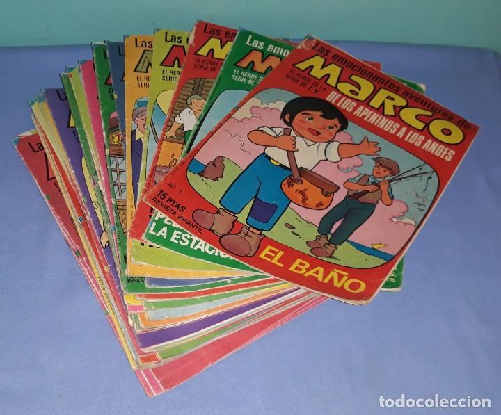GRAN LOTE 39 COMICS DE MARCO DE LOS APENINOS A LOS ANDES DE BRUGUERA AÑO 1976 (Tebeos y Comics - Bruguera - Otros)