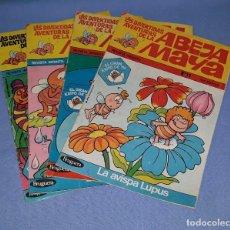 Tebeos: 4 COMICS DE LA ABEJA MAYA DE BRUGUERA AÑO 1978. Lote 208020722