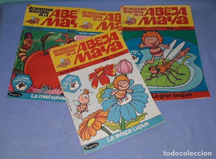 Tebeos: 4 COMICS DE LA ABEJA MAYA DE BRUGUERA AÑO 1978 - Foto 2 - 208020722