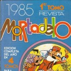 Tebeos: TOMO RECOPILATORIO REVISTA MORTADELO - 1º TOMO - Nº 210 AL 221 - EDT. BRUGUERA, 1985.. Lote 208036136
