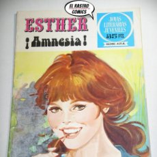 Tebeos: ESTHER, AMNESIA, JOYAS LITERARIAS JUVENILES SERIE AZUL Nº 32, ED. BRUGUERA AÑO 1979. Lote 242047635