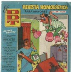 Tebeos: EL DDT, REVISTA HUMORÍSTICA PARA MAYORES, Nº 358. MARZO 1958 ED. BRUGUERA. Lote 208076112