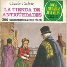 """Tebeos: JOYAS LITERARIAS JUVENILES Nº 154 """"LA TIENDA DE ANTIGÜEDADES"""" ED. BRUGUERA. 1ª EDICIÓN 1976. Lote 208107022"""
