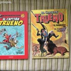 Tebeos: CAPITAN TRUENO TOMO 1 60 ANIVERSARIO/ REGREDO DE EL CAPITAN TRUENO. Lote 208164586