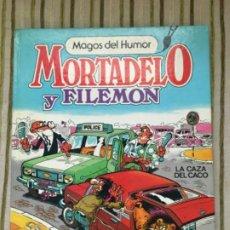 """Tebeos: MORTADELO Y FILEMON """"LA CAZA DEL CACO"""". Lote 208165995"""
