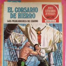 Tebeos: JOYAS LITERARIAS JUVENILES 3 EL CORSARIO DE HIERRO. Lote 255320620