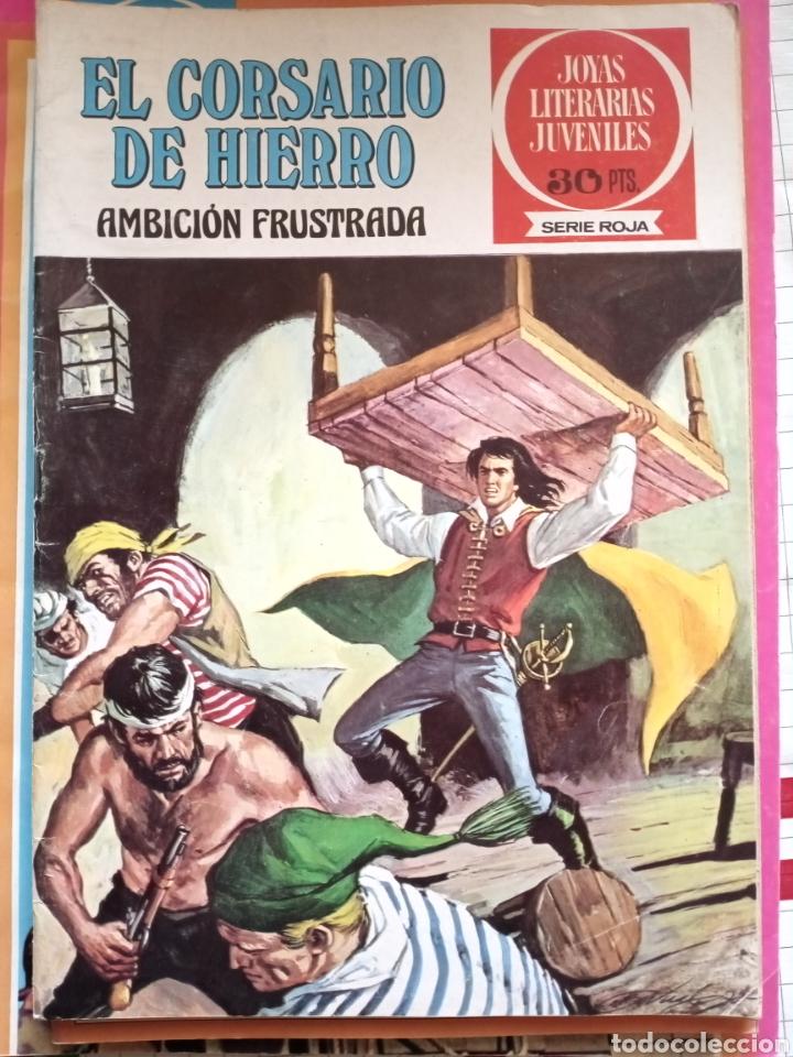 JOYAS LITERARIAS JUVENILES 12 EL CORSARIO DE HIERRO (Tebeos y Comics - Bruguera - Corsario de Hierro)