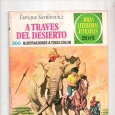 Tebeos: N° 22 JOYAS LITERARIAS JUVENILES. EDITORIAL BRUGUERA, S.A.. Lote 208293112