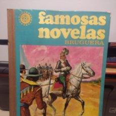 Tebeos: TOMO 10 FAMOSAS NOVELAS ILUSTRADAS ( EMILIO SALGARI, WALTER SCOT,T, JULIO VERNE ). Lote 208318287