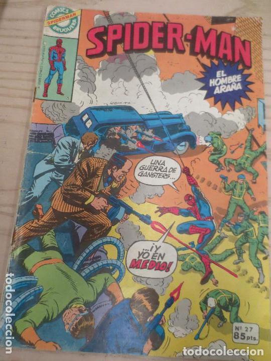 SPIDERMAN - N 27 --EL HOMBRE ARAÑA - ED. BRUGUERA (Tebeos y Comics - Bruguera - Otros)