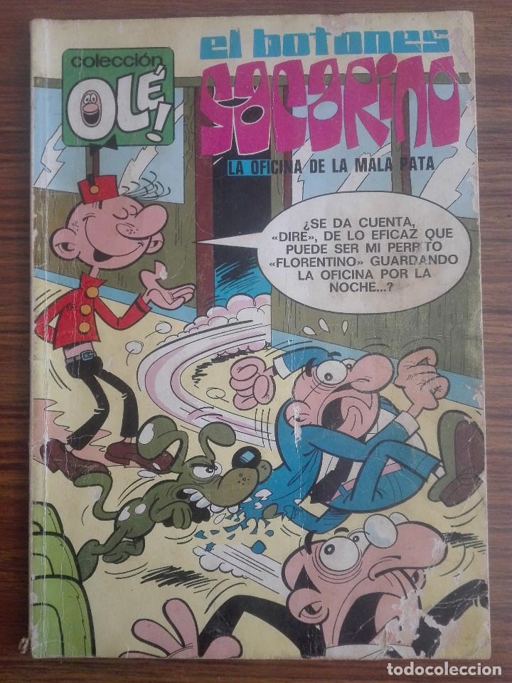 COLECCIÓN OLE EL BOTONES SACARINO LA OFICINA DE LA MALA PATA Nº 62 1975 BRUGUERA180G (Tebeos y Comics - Bruguera - Ole)