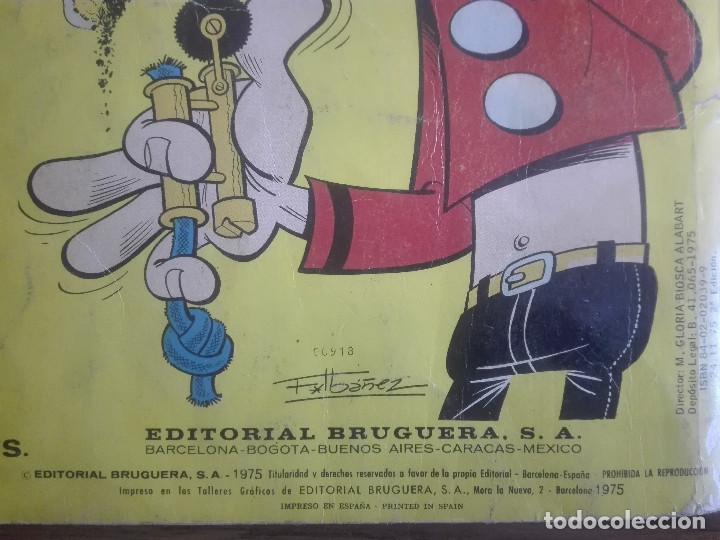 Tebeos: COLECCIÓN OLE EL BOTONES SACARINO LA OFICINA DE LA MALA PATA nº 62 1975 BRUGUERA180g - Foto 5 - 208341203