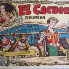 Tebeos: EL CACHORRO Nº 88. EL CACHORRO REGRESA, IRANZO. EDITORIAL BRUGUERA, ORIGINAL 1954.. Lote 238556100