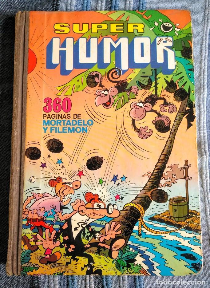 TOMO XI SUPER HUMOR. 1A EDICIÓN 1976. 360 PÁGINAS DE MORTADELO Y FILEMÓN. BRUGUERA. (Tebeos y Comics - Bruguera - Super Humor)