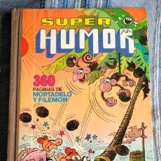 Tebeos: TOMO XI SUPER HUMOR. 1A EDICIÓN 1976. 360 PÁGINAS DE MORTADELO Y FILEMÓN. BRUGUERA.. Lote 208347936