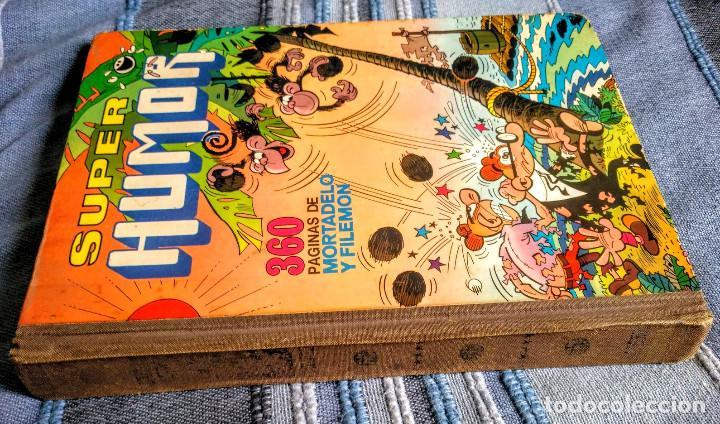 Tebeos: Tomo XI Super humor. 1a edición 1976. 360 páginas de Mortadelo y Filemón. Bruguera. - Foto 2 - 208347936