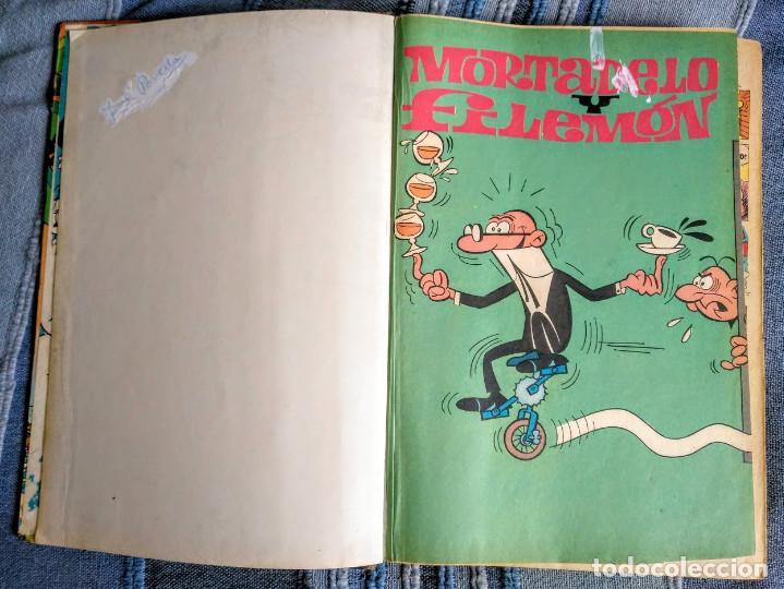 Tebeos: Tomo XI Super humor. 1a edición 1976. 360 páginas de Mortadelo y Filemón. Bruguera. - Foto 4 - 208347936