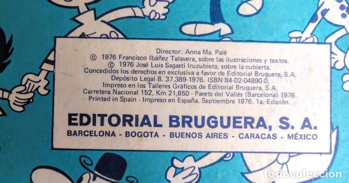 Tebeos: Tomo XI Super humor. 1a edición 1976. 360 páginas de Mortadelo y Filemón. Bruguera. - Foto 6 - 208347936