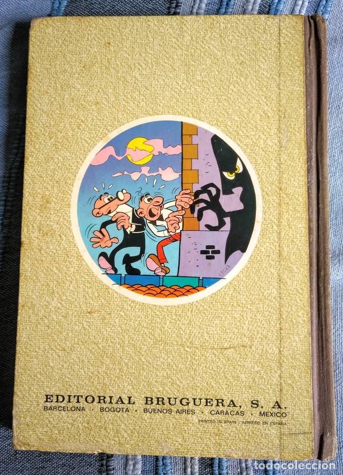 Tebeos: Tomo XI Super humor. 1a edición 1976. 360 páginas de Mortadelo y Filemón. Bruguera. - Foto 7 - 208347936