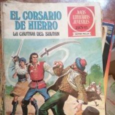 Tebeos: JOYAS LITERARIAS JUVENILES NUMERO 13 EL CORSARIO DE HIERRO LA CAUTIVA D. Lote 208357738