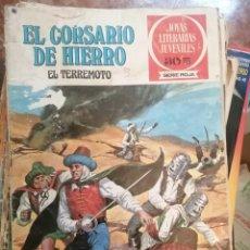 Tebeos: EL CORSARIO DE HIERRO. EL TERREMOTO. GRANDES AVENTURAS JUVENILES. Nº 57.. Lote 208357832