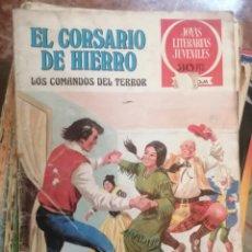 Tebeos: JOYAS LITERARIAS JUVENILES NUMERO 31 EL CORSARIO DE HIERRO LOS COMANDO. Lote 208357928