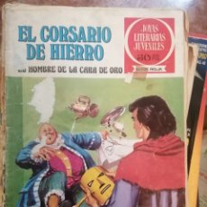 Tebeos: JOYAS LITERARIAS JUVENILES SERIE ROJA N 32 - EL CORSARIO DE HIERRO. Lote 208358161
