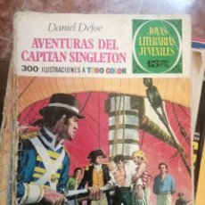 Tebeos: JOYAS LITERARIAS JUVENILES Nº 10 AVENTURAS DEL CAPITAN SINGLETON. Lote 208358263