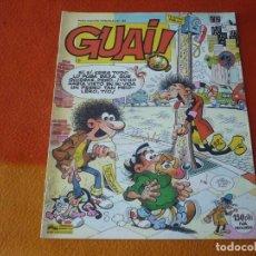 Tebeos: GUAI! Nº 42 ( IBAÑEZ ) PUBLICACION SEMANAL CHICHA TATO Y CLODOVEO GRIJALBO. Lote 208401602