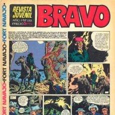 Tebeos: BRAVO - REVISTA JUVENIL- Nº 28 -TOPOLINO-DOC FORAN-MICHEL TANGUY-BLUEBERRY-1968-BUENO-LEA-4340. Lote 243188505