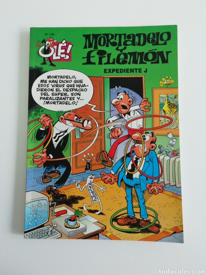 MORTADELO Y FILEMON N°135 (Tebeos y Comics - Bruguera - Mortadelo)