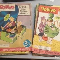 Livros de Banda Desenhada: TÍO VIVO 2ª ÉPOCA / LOTE CON 40 NÚMEROS / BRUGUERA. Lote 208751208