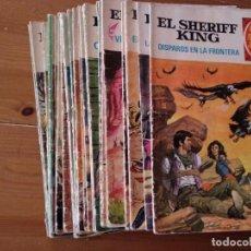 Tebeos: 19 GRANDES AVENTURAS JUVENILES - EL SHERIFF KING. Lote 208967815