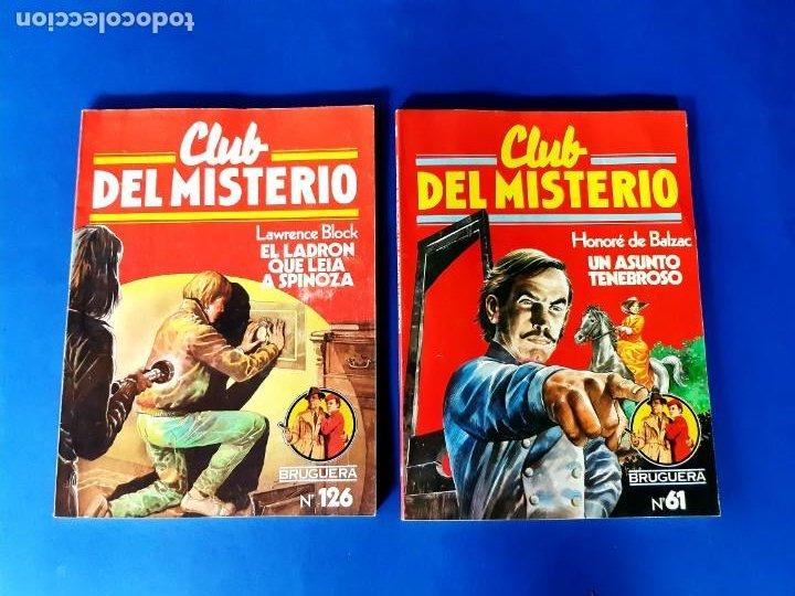 Tebeos: LOTE DE 7 CLUB DEL MISTERIO -EXCELENTE ESTADO - Foto 2 - 208990573
