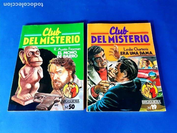 Tebeos: LOTE DE 7 CLUB DEL MISTERIO -EXCELENTE ESTADO - Foto 3 - 208990573