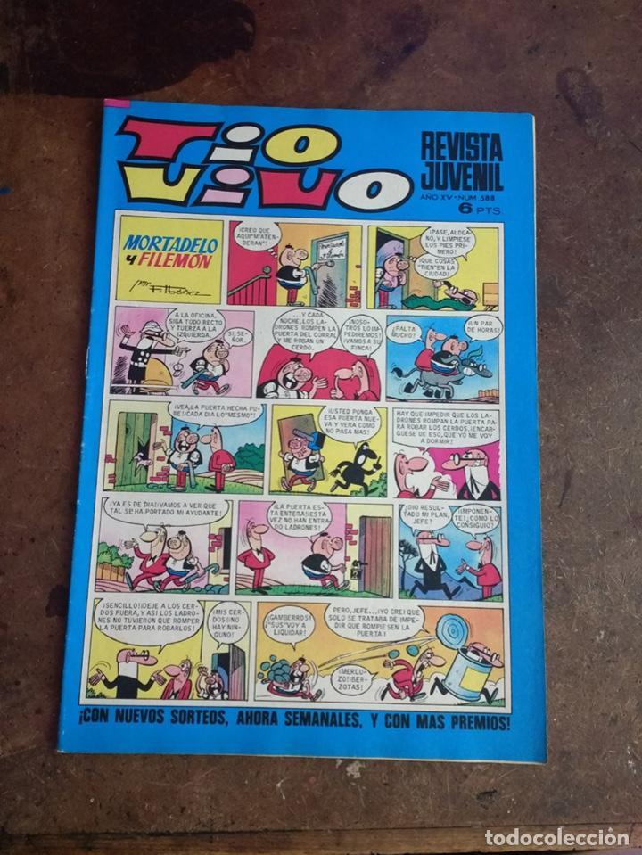 25 TÍO VIVO ÉPOCA 2 (Tebeos y Comics - Bruguera - Tio Vivo)