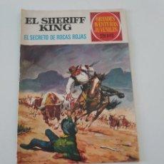 Tebeos: EL SHERIFF KING NÚMERO 21 GRANDES AVENTURAS JUVENILES 1975 2 EDICIÓN EDITORIAL BRUGUERA. Lote 209033567