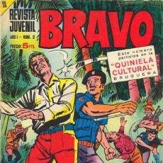 Tebeos: BRAVO-REVISTA JUVENIL- Nº 2 -BLUEBERRY-M.TANGUY-A. TALON-VÍCTOR MORA-1968-BUENO-DIFÍCIL-LEAN-3642. Lote 209088742