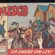 Tebeos: JALISCO Nº 1: LA CIUDAD SIN LEY. Lote 209090235