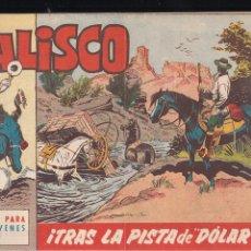Tebeos: JALISCO Nº 14: TRAS LA PISTA DE DOLAR. Lote 209091203